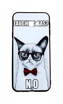 Zadní 3D silikonový kryt na Samsung J4+ Grumpy Cat