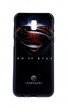 Zadní 3D silikonový kryt na Samsung J6+ Superman 2