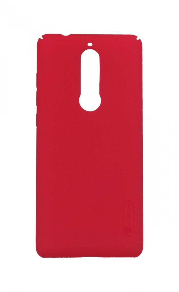 Pouzdro Nillkin Nokia 5.1 pevné červené 33837 (kryt neboli obal na mobil Nokia 5.1 )