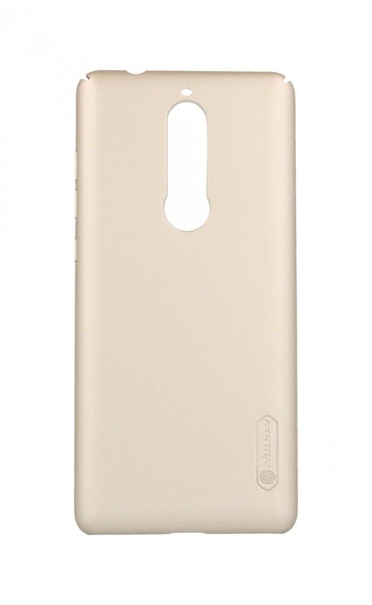 Pouzdro Nillkin Nokia 5.1 pevné zlaté 33839 (kryt neboli obal na mobil Nokia 5.1 )