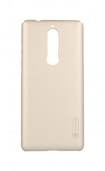 Zadní pevný kryt Nillkin na Nokia 5.1 zlatý