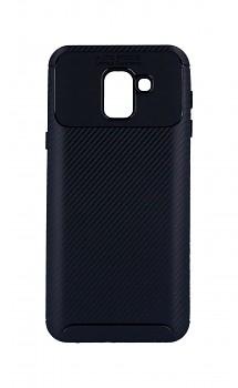 Zadní silikonový kryt Focus na Samsung J6 černý
