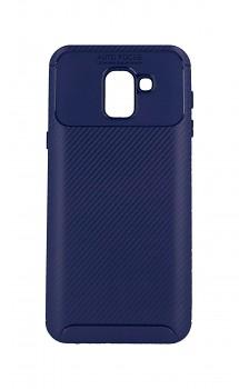 Zadní silikonový kryt Focus na Samsung J6 modrý