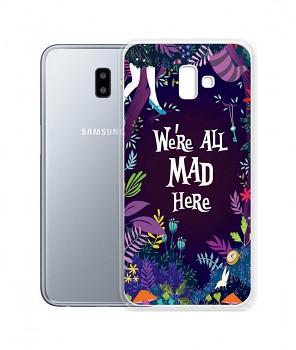 Zadní silikonový kryt na Samsung J6+ Mad