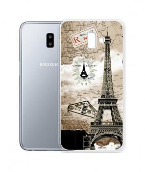 Zadní silikonový kryt na Samsung J6+ Paris 2