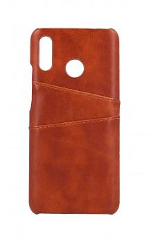 Zadní pevný kryt na Huawei Nova 3i Pocket hnědý
