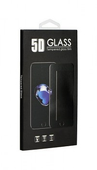 Tvrzené sklo BlackGlass na iPhone X 5D černé