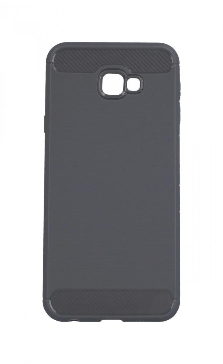 Zadní silikonový kryt na Samsung J4+ šedý