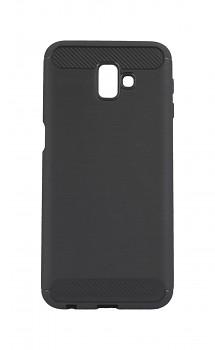 Zadní silikonový kryt na Samsung J6+ šedý