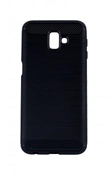 Zadní silikonový kryt na Samsung J6+ černý