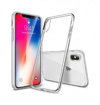 Zadní kryt Swissten Clear Jelly na iPhone XS Max průhledný