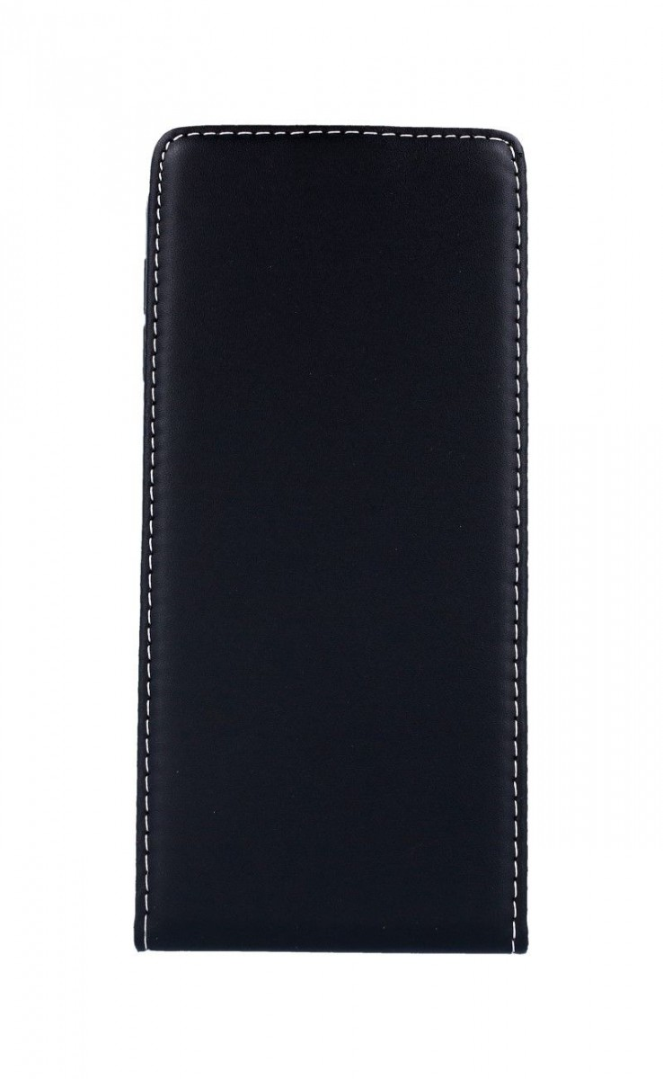 Pouzdro Forcell Slim Flexi Samsung J6+ flipové černé 35153 (kryt neboli obal na mobil Samsung J6+)