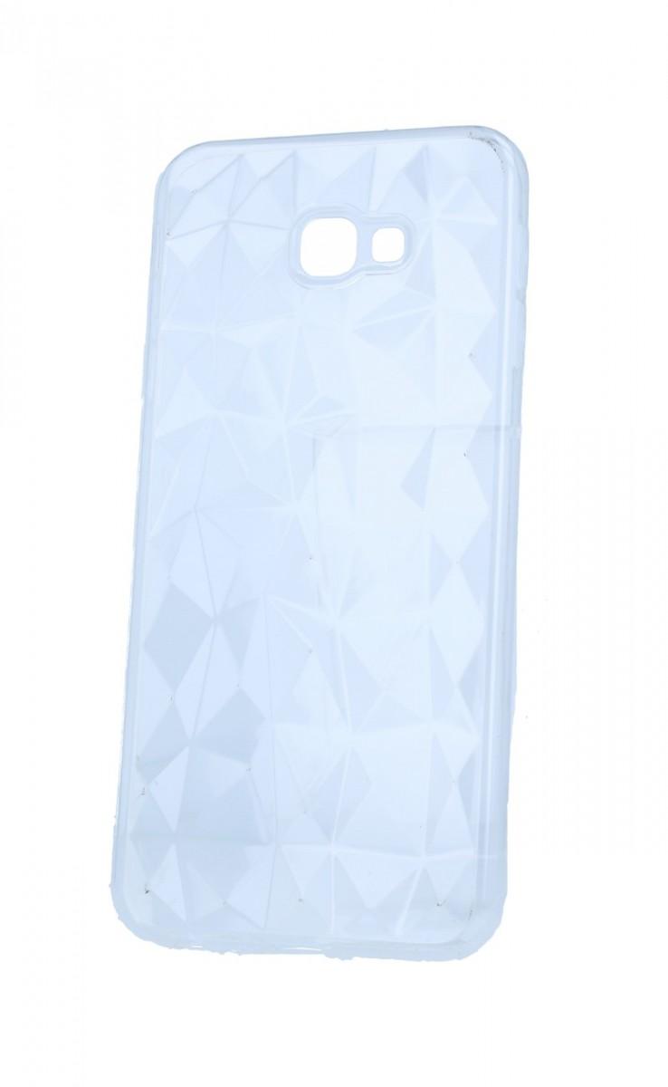 Zadní silikonový kryt Prism Jelly na Samsung J4+ průhledný
