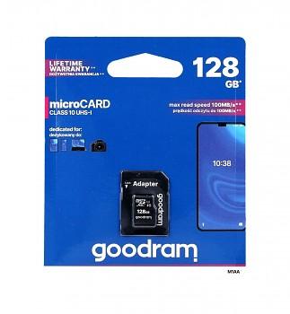 Paměťová karta GOODRAM 128GB Class 10 UHS-I