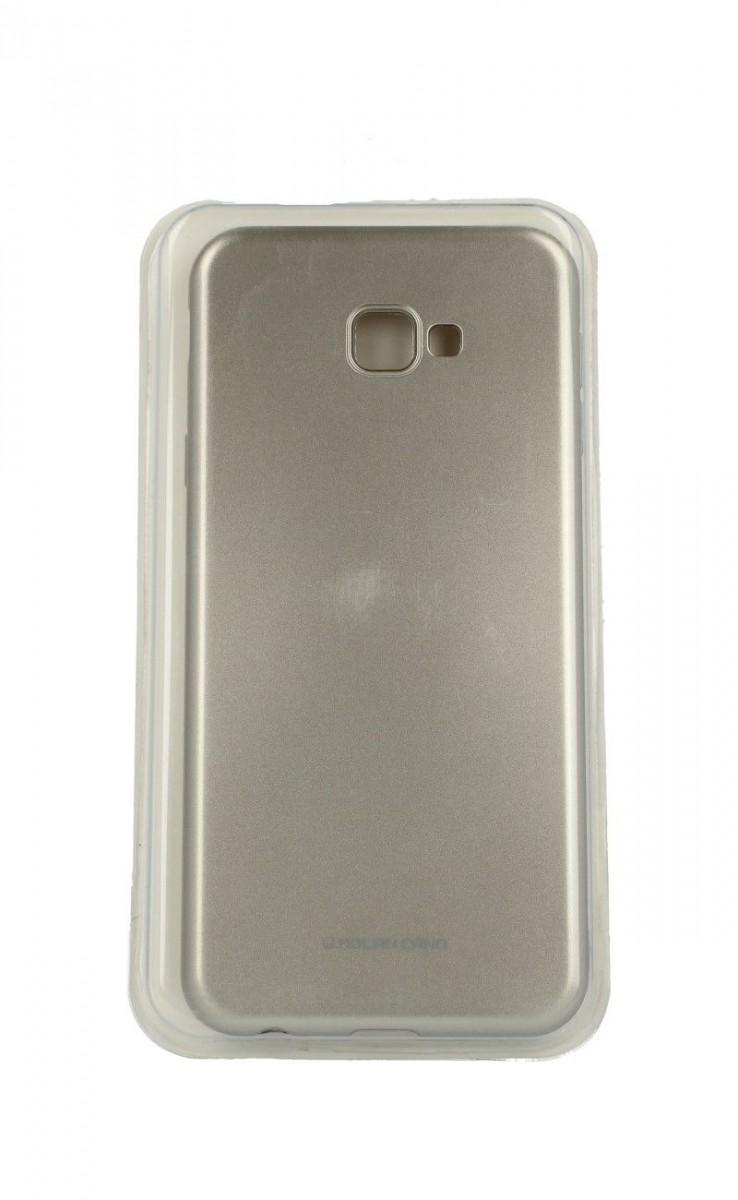 Zadní silikonový kryt Molan Cano Jelly na Samsung J4+ zlatý