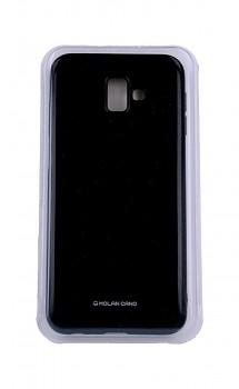Zadní silikonový kryt Molan Cano Jelly na Samsung J6+ černý
