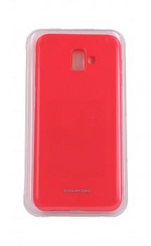 Zadní silikonový kryt Molan Cano Jelly na Samsung J6+ růžový