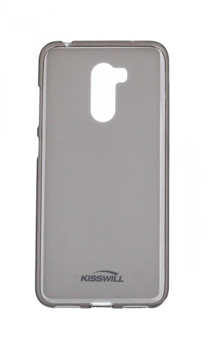Pouzdro KISSWILL Xiaomi Pocophone F1 silikon tmavý 35545 (kryt neboli obal na mobil Xiaomi Pocophone F1)