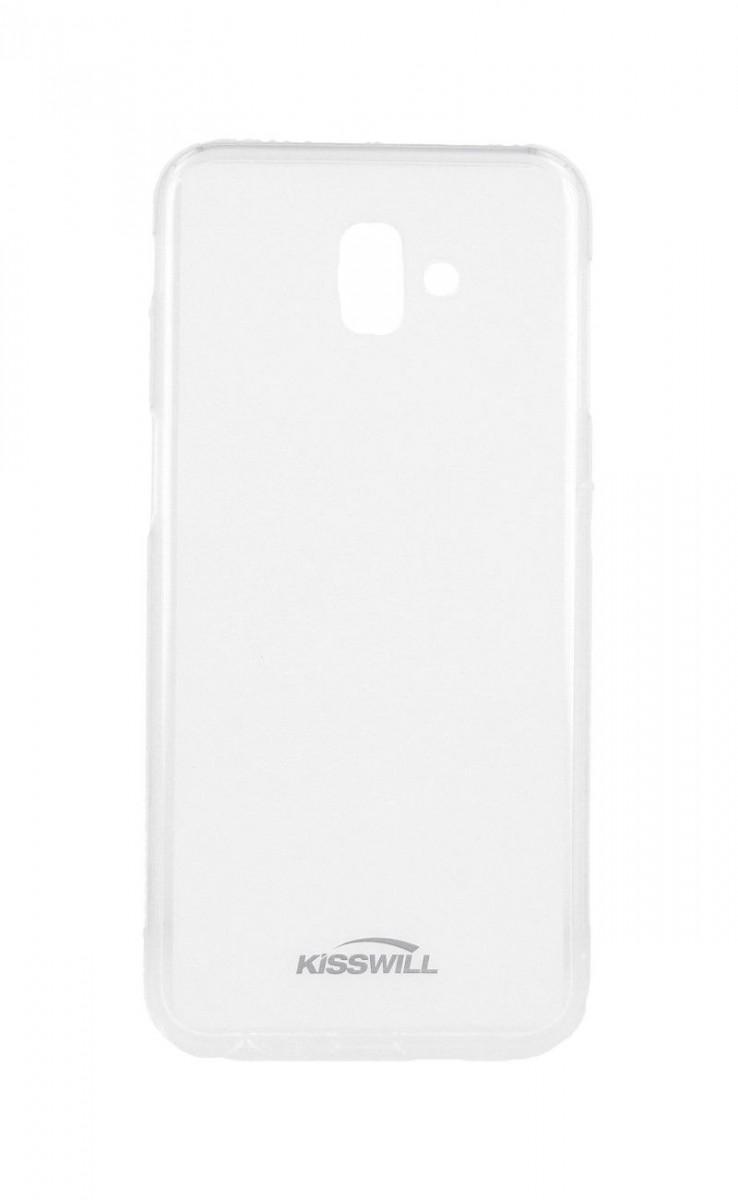 Pouzdro KISSWILL Samsung J6+ silikon světlý 35559 (kryt neboli obal na mobil Samsung J6+ J610F)