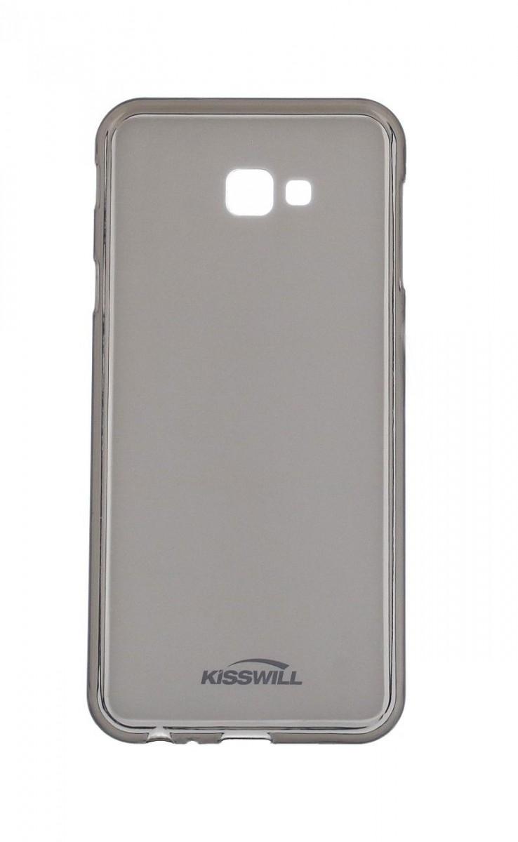 Pouzdro KISSWILL Samsung J4+ silikon tmavý 35575 (kryt neboli obal na mobil Samsung J4+ J415F)