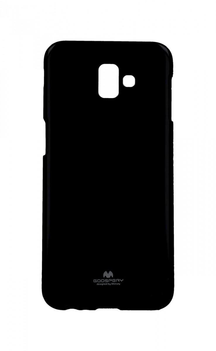 Zadní kryt Mercury Jelly Case na Samsung J6+ černý
