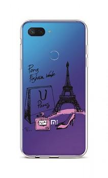 Zadní silikonový kryt na Xiaomi Mi 8 Lite Fashion Week