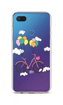Zadní silikonový kryt na Xiaomi Mi 8 Lite Pink Bike