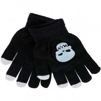 Dotykové rukavice pro mobilní telefon Skull vel. M