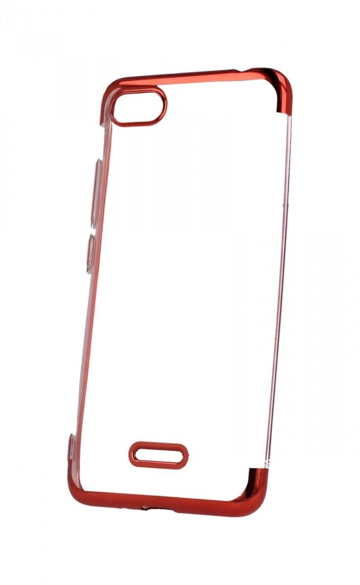 Zadní silikonový kryt na Xiaomi Redmi 6A Frame červený