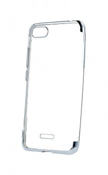 Zadní silikonový kryt na Xiaomi Redmi 6A Frame stříbrný