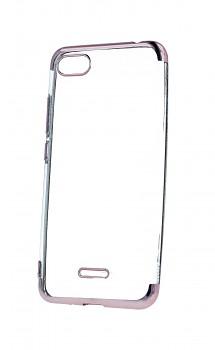 Zadní silikonový kryt na Xiaomi Redmi 6A Frame růžový