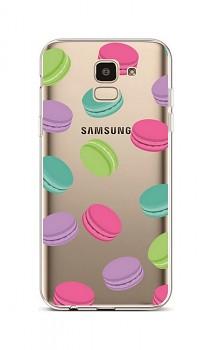 Zadní silikonový kryt na Samsung J6 Macaroons