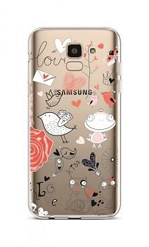 Zadní silikonový kryt na Samsung J6 Funny