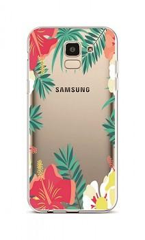Zadní silikonový kryt na Samsung J6 Lily