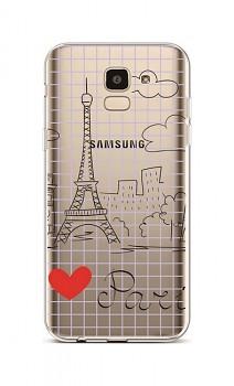 Zadní silikonový kryt na Samsung J6 Paris