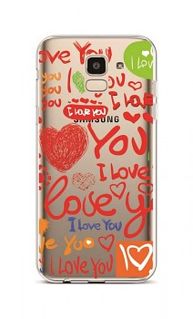 Zadní silikonový kryt na Samsung J6 Love