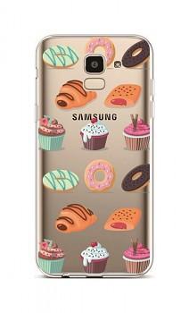 Zadní silikonový kryt na Samsung J6 Bakery