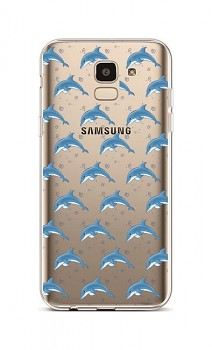 Zadní silikonový kryt na Samsung J6 Dolphins