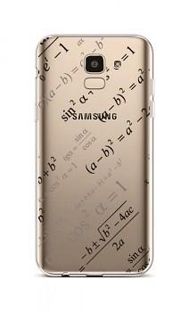Zadní silikonový kryt na Samsung J6 Maths