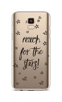 Zadní silikonový kryt na Samsung J6 Reach For The Stars
