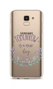 Zadní silikonový kryt na Samsung J6 Tomorrow