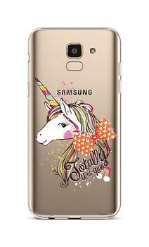 Zadní silikonový kryt na Samsung J6 Totally Uni-que