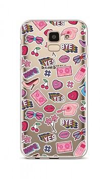 Zadní silikonový kryt na Samsung J6 Yes, Bye