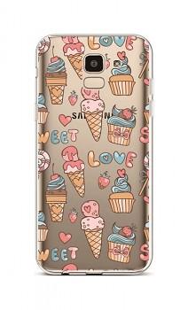Zadní silikonový kryt na Samsung J6 Sweet Love