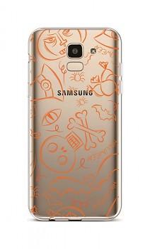 Zadní silikonový kryt na Samsung J6 Halloween