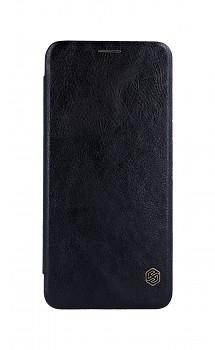 Knížkové pouzdro Nillkin Qin na Samsung A9 kožené černé