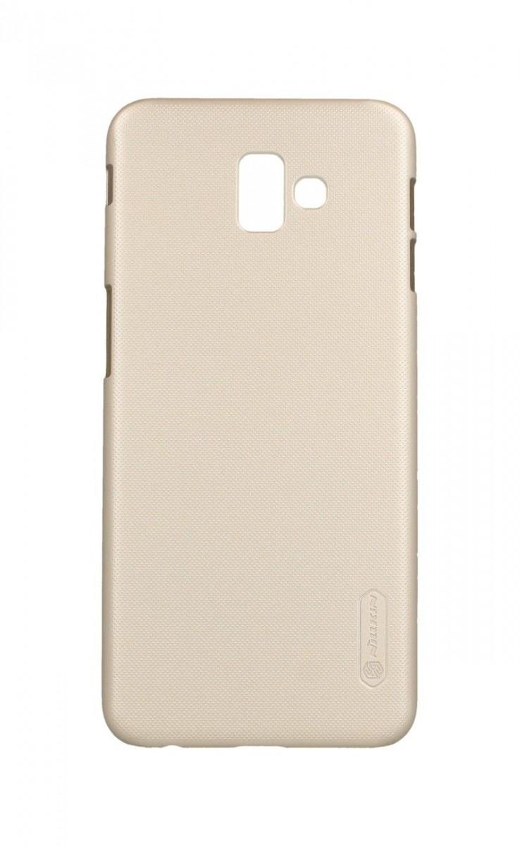 Kryt Nillkin Samsung J6+ pevný zlatý 38029 (pouzdro neboli obal na mobil Samsung J6+)