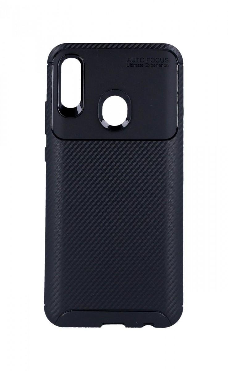 Zadní silikonový kryt Focus na Honor 10 Lite černý