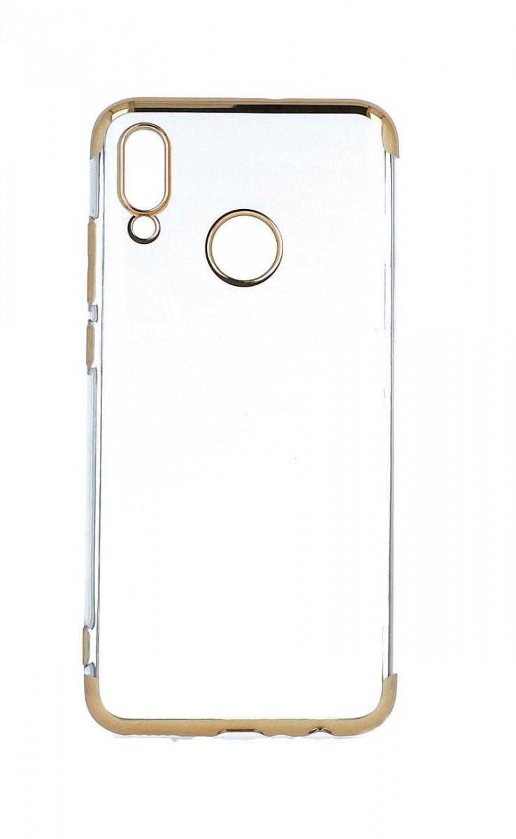 Zadní silikonový kryt na Honor 10 Lite Frame zlatý