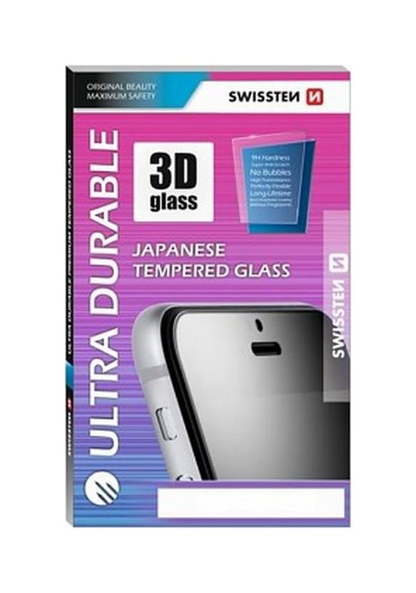 Tvrzené sklo Swissten na Xiaomi Redmi 6A 3D zahnuté černé